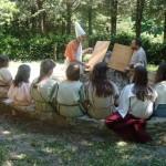 I bambini a scuola di etrusco...