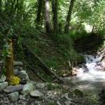 Santuario dedicato a Turan in riva al fiume